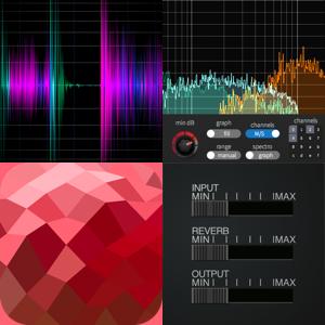 Oszillos + Spectrum + RedVerb 2 + JP-ME-1